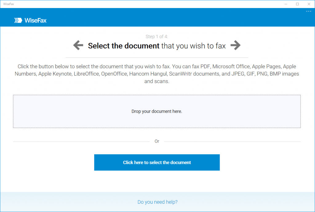 Fax software for Windows 10