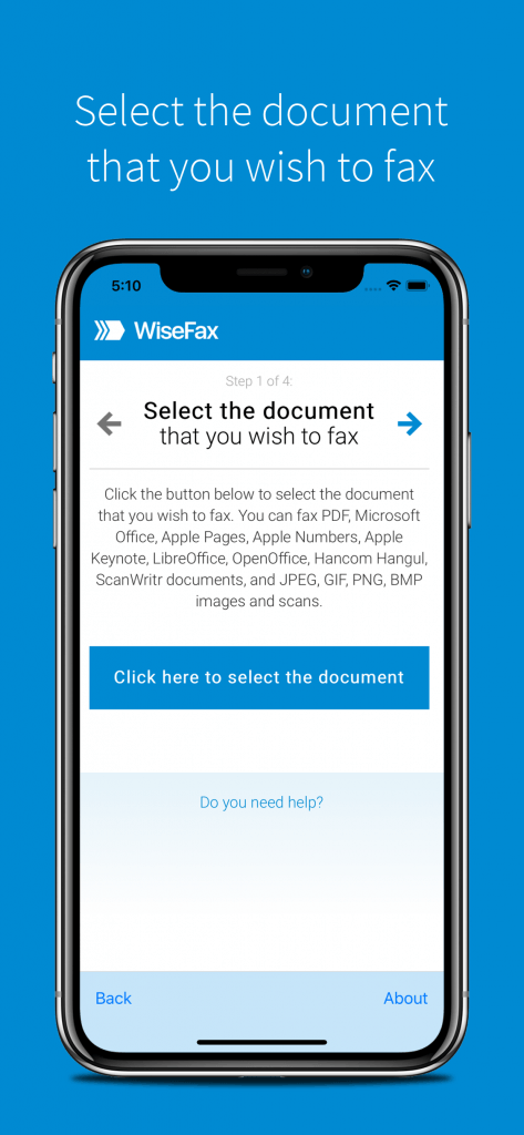 Wisefax - Best fax app for iOS
