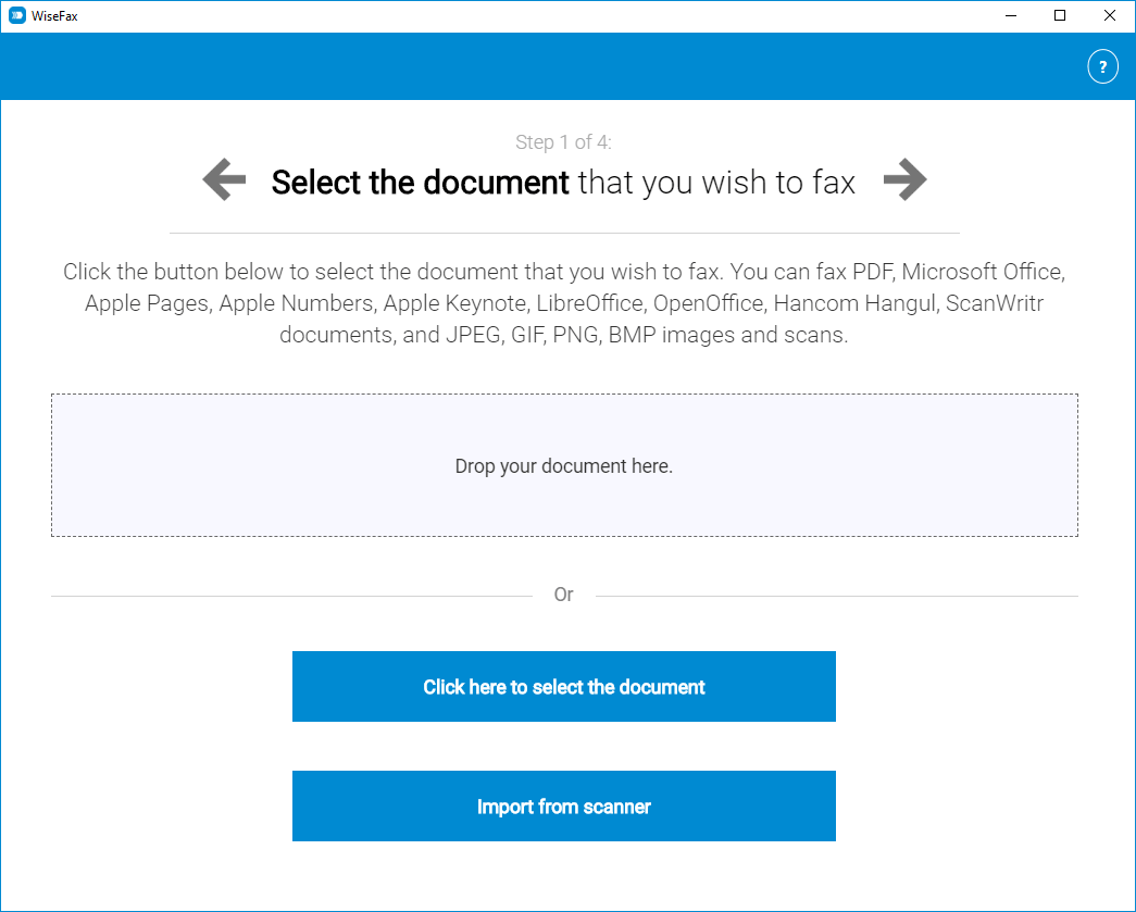 Send fax with Windows 10 app quickly, easily and securely